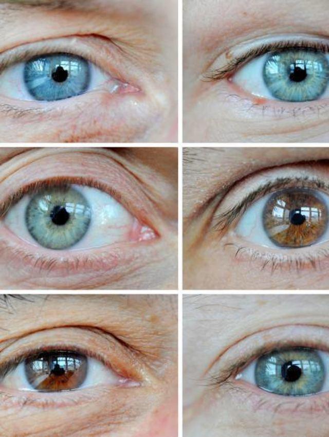 Augen blaue grün grau Blau grau
