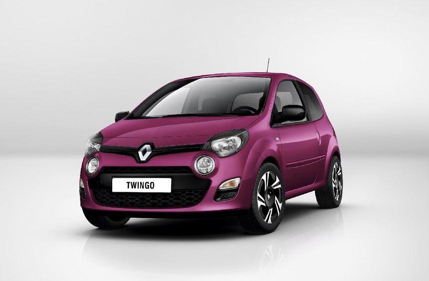 Das erste Foto des gelifteten Renault Twingo