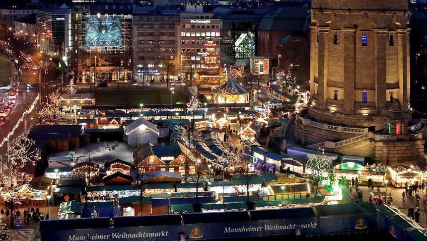 Wo Ist Der Größte Weihnachtsmarkt.Die Schönsten Weihnachtsmärkte 2018 In Mannheim Heidelberg Und Der