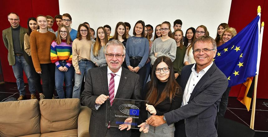 "Das ""Goethe"" wird Botschafter-Schule"