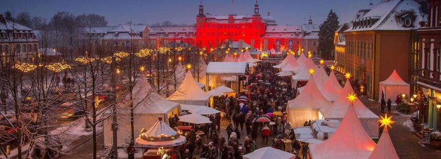 Weihnachtsmarkt Schwetzingen.Dreifach Den Advent Feiern Mannheimer Morgen