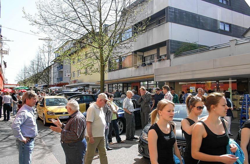 Autohäuser aus der Region werden am Sonntag im Rahmen des Frühlingsmarktes eine Auswahl ihrer ...