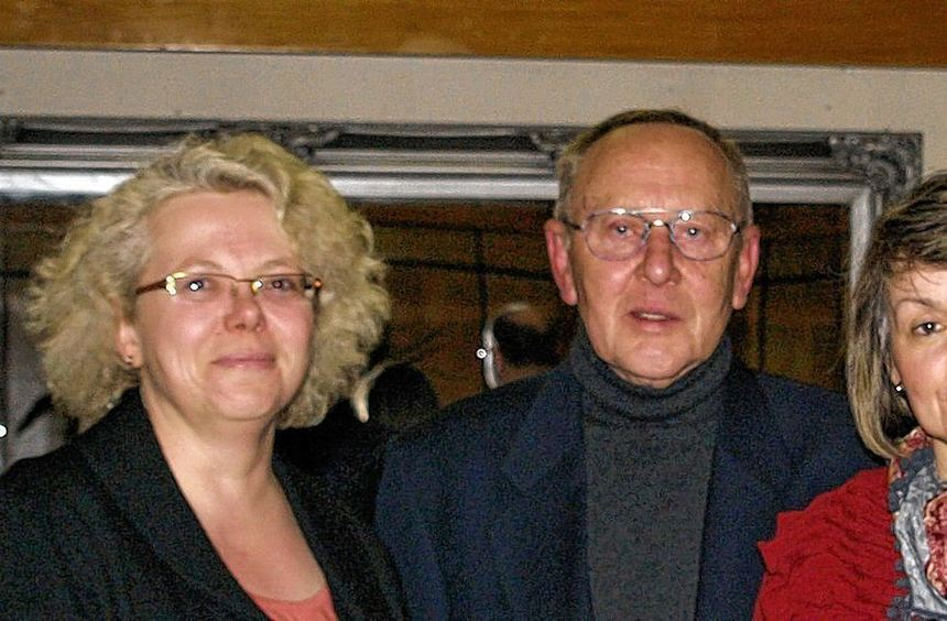 Zum neuen geschäftsführenden Vorstand gehören (v.l.) Antje Ritterbusch (Kassenwartin), Hans-Peter ...