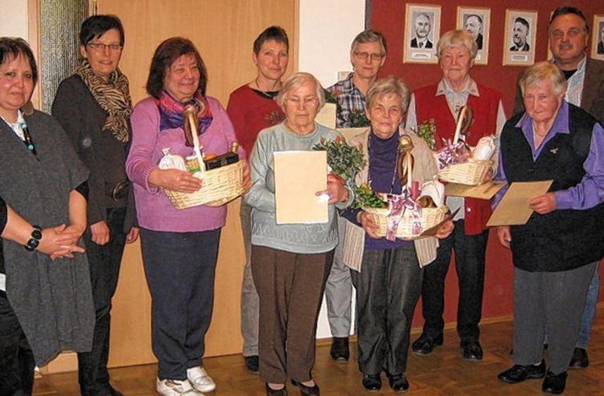Ehrungen standen bei der Jahreshauptversammlung des Landfrauenvereins Schweigern im Mittelpunkt.