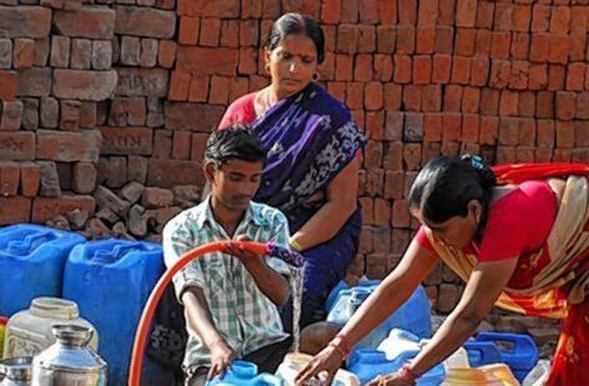 In den Metropolen der Welt, hier Mumbai, wird das Wasser knapp.