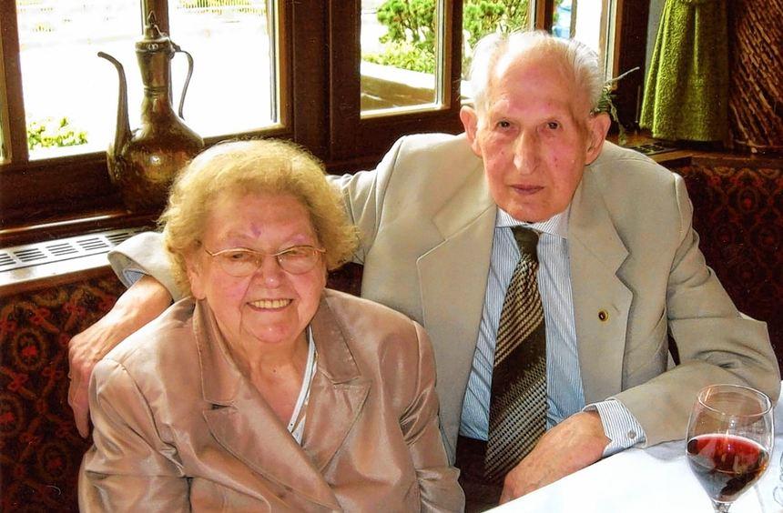 Frieda und Josef Krauß sind seit 65 Jahren verheiratet, traten am 22. März 1947 vor den Traualtar.