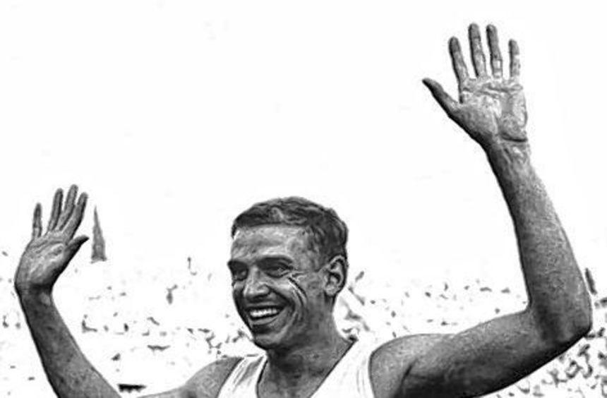 Armin Hary bei den Olympischen Spielen 1960 in Rom.