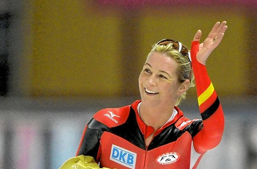 Bei der WM gilt Claudia Pechstein als eine der wenigen Hoffnungen des deutschen Verbandes auf eine ...