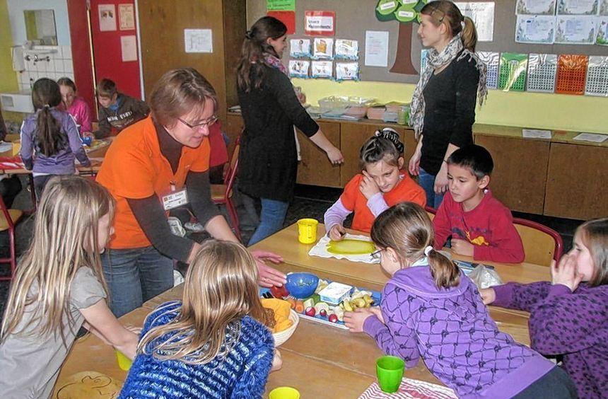 """""""Ich will gesund bleiben"""", lautete das Motto eines Aktionstages an der Grundschule Niederstetten ..."""