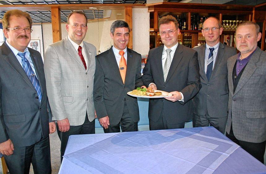 """Lust auf mehr: Der """"Odenwald-Teller"""" ist ein besonderes kulinarisches Schmankerl der Region. Im ..."""