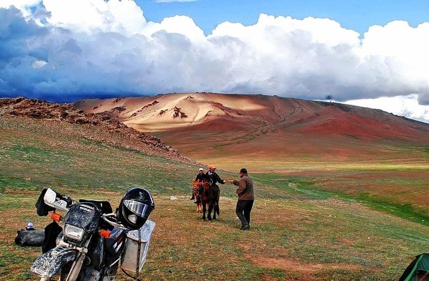 Natur, soweit das Auge reicht: Die Faszination der Mongolei ist in einem Bildervortrag im Paimarer ...