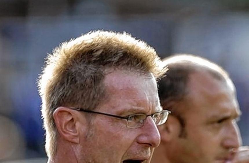 VfL-Trainer Richard Weber hat Respekt vor dem VfB Gartenstadt.