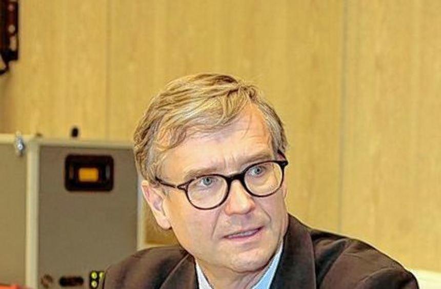 Der psychiatrische Gutachter Dr. Harald Dressing bei Gericht.