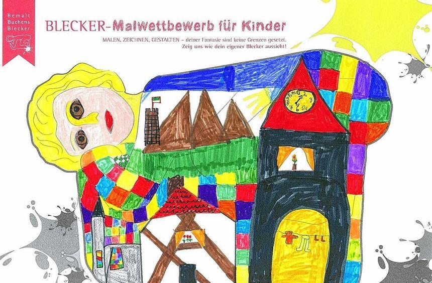 Malwettbewerb zum Blecker-Projekt: Bislang gingen bei den Verantwortlichen rund 100 fertige ...