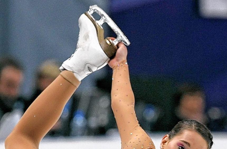 Mit ihren Eislaufkünsten beeindruckt die Mannheimerin Sarah Hecken seit Jahren die Menschen in ...