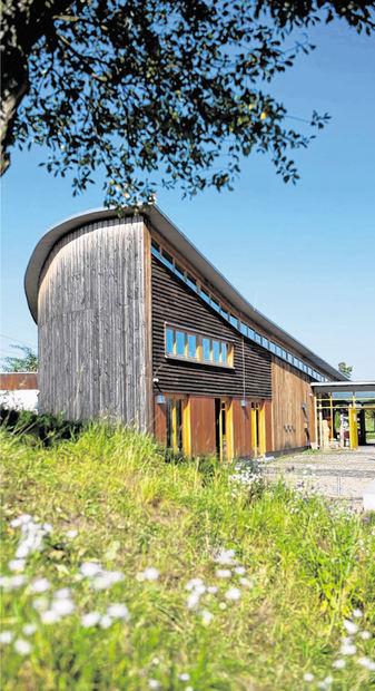 Das Naturschutzzentrum an der Erlache