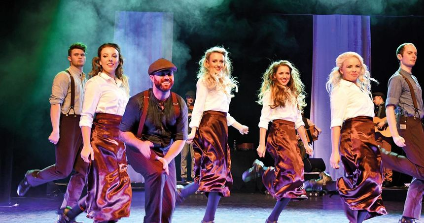 "Die irische Tanzshow ""Celtic Rhythms direct from Ireland"" gastiert am Donnerstag, 7. Februar, um ..."