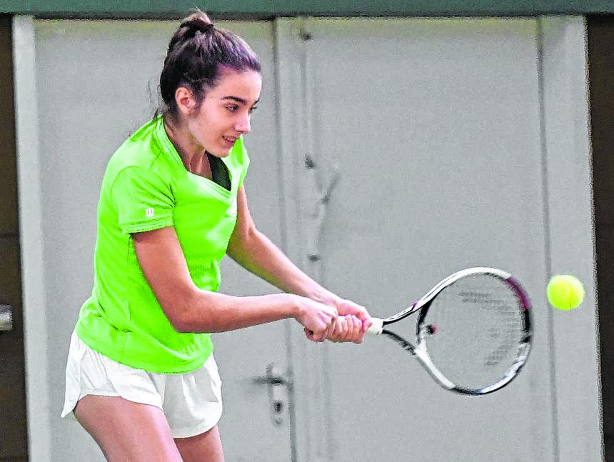 Ohne Tennis wird es Mila schnell langweilig