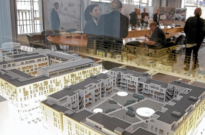 Viel mehr als nur ein Einkaufsplatz: So soll das neue Stadtquartier Q 6/Q 7 künftig aussehen.