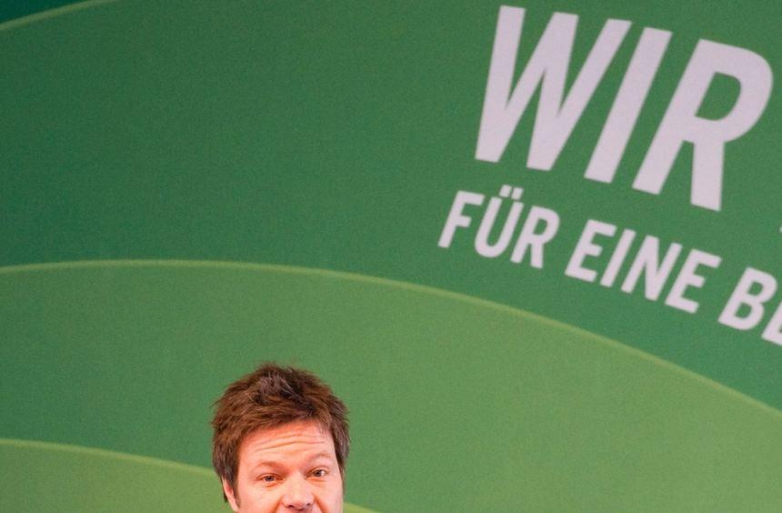 Der Kandidat der Grünen: Robert Habeck.