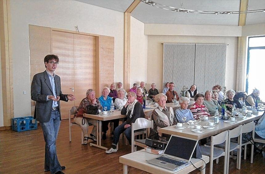 Bei den Senioren stellte Jacob Birkenhäger den Verein Masifunde vor.