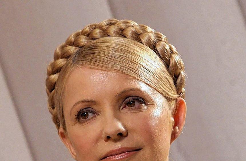 Ein Bild aus dem Präsidentschaftswahlkampf im Jahr 2010, den Timoschenko verlor. Mit ihrer ...