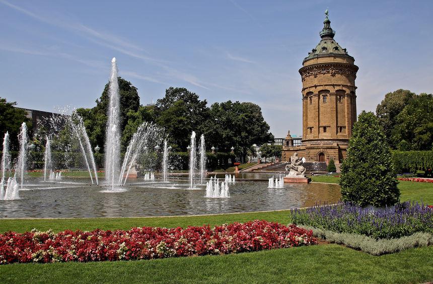 Wasserturm Parkhaus Mannheim