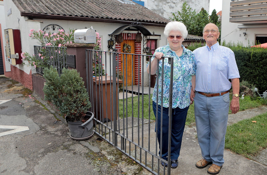 Große Liebe ums Eck in Feudenheim gefunden - Fotos