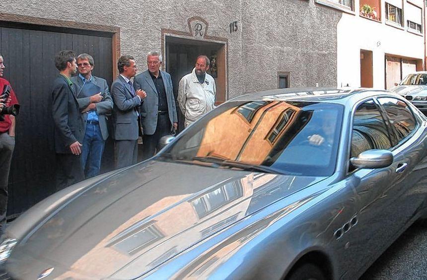 Als der heutige Ministerpräsident Winfried Kretschmann im September 2006 die Talstraße in ...