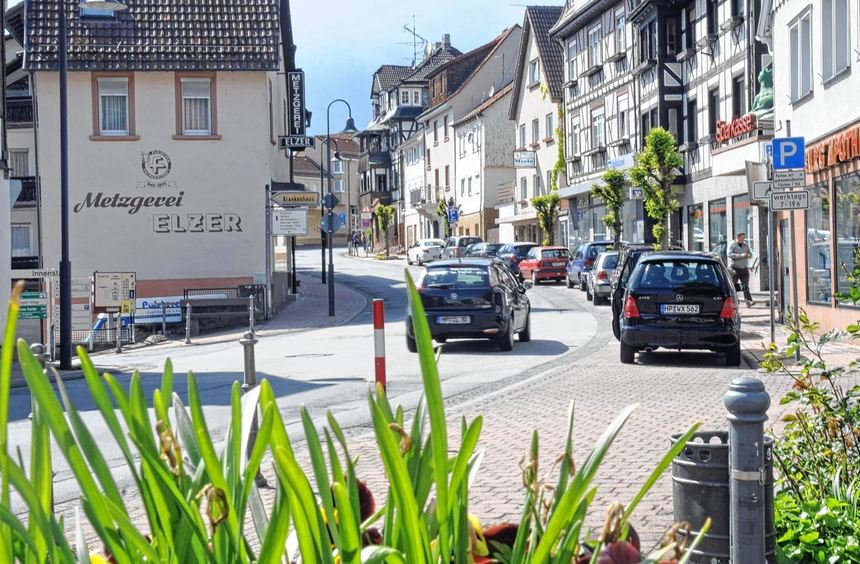 Die B 47 durch Lindenfels soll im Zuge von Straßenbauarbeiten in diesem Sommer mehrmals voll ...
