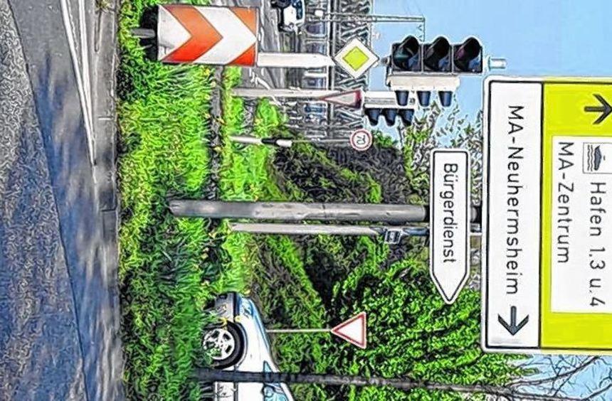 Nach wie vor nutzen Arena-Besucher Neuhermsheim als Parkplatz.