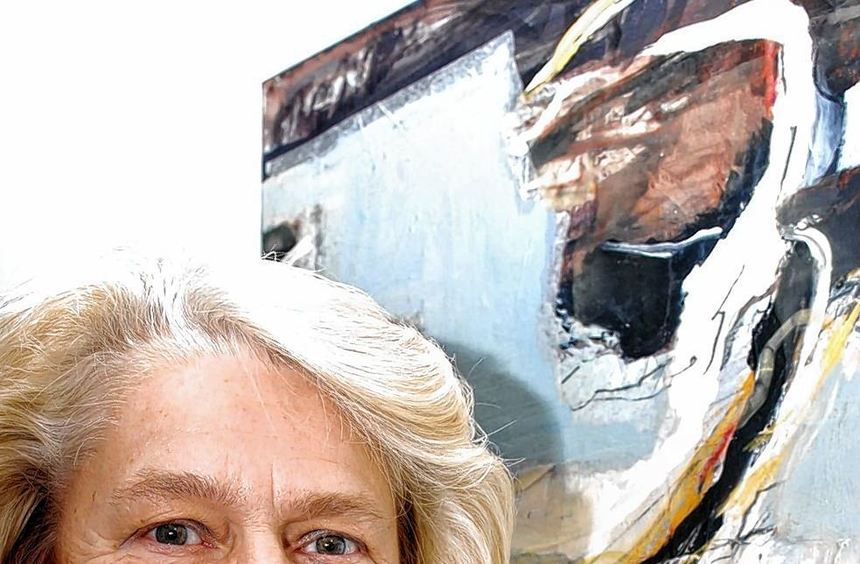 Die Werke von Brunhilde Gierends (Bild links) und Marina Ballnus-Leonhard sind noch bis zum ...