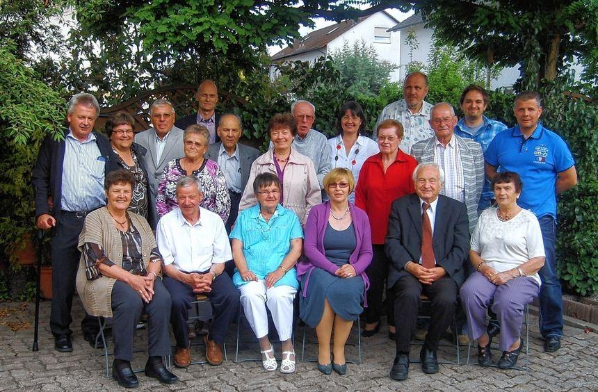 Weg mit dem Schmerz: Die Mitglieder der Bechterew-Selbsthilfegruppe in Speyer sind seit zwei ...