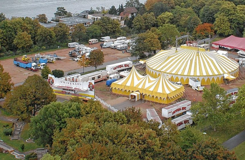 """Der """"Circus Universal Renz"""": Ab dem 24. Mai soll es ein Gastspiel in Bensheim geben. Die Verwaltung ..."""