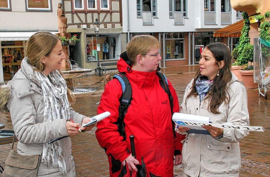 250 Bürger wurden im Rahmen einer Umfrage in Buchen gefragt, was sie von einer Wiedereinführung ...