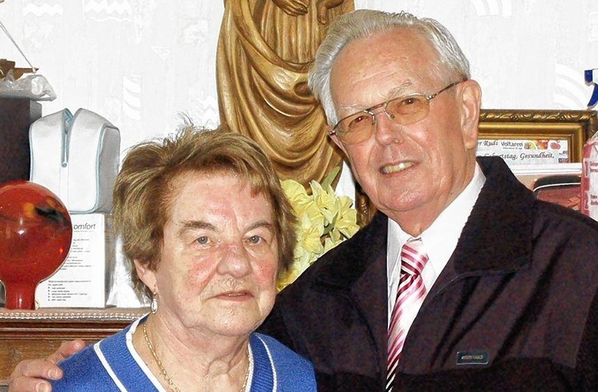 Seit 50 Jahren ein Ehepaar: Elfriede und Rudi Greulich.