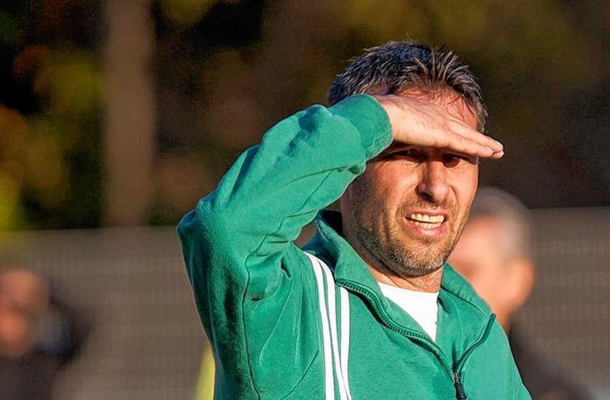 Trainer Wolfgang Jäger geht fest von einem Sieg seines SV Lindenfels bei Eintracht Bürstadt und dem ...