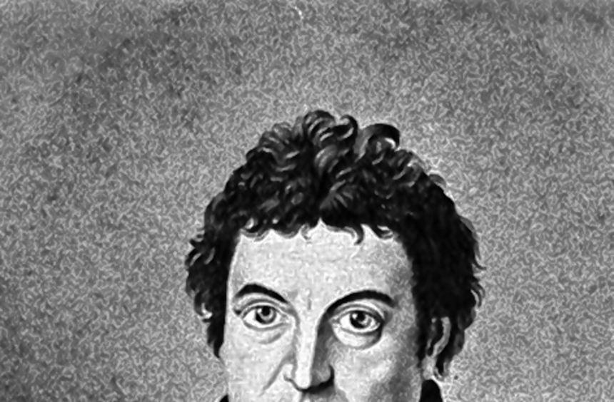 Der Philosoph Johann Gottlieb Fichte (1762-1814).