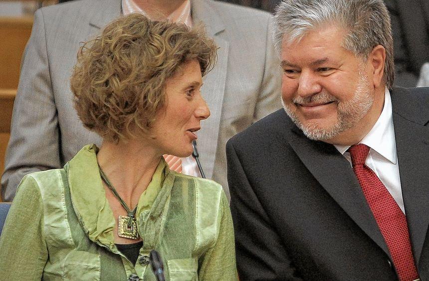 Zwei, die sich verstehen: Wirtschaftsministerin Eveline Lemke und Ministerpräsident Kurt Beck.