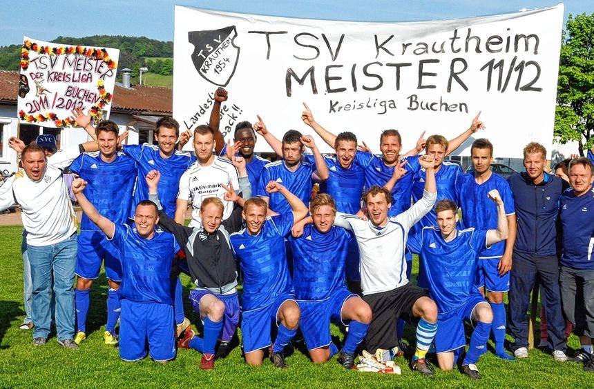 Durch die Niederlage der SG Erfeld/Gerichtstetten steht der TSV Krautheim vorzeitig als Meister der ...