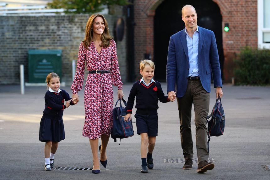 Schock für Kate: Wird Prinz George in der Schule etwa gemobbt?