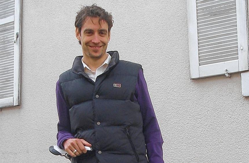 Für Dirk Dewald, Geo-Naturpark-Projektleiter, dreht sich freizeitmäßig und beruflich viel ums Rad. ...