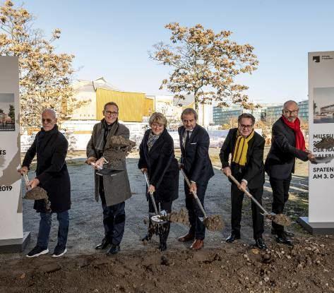 Berlin: Bau für Museum der Moderne