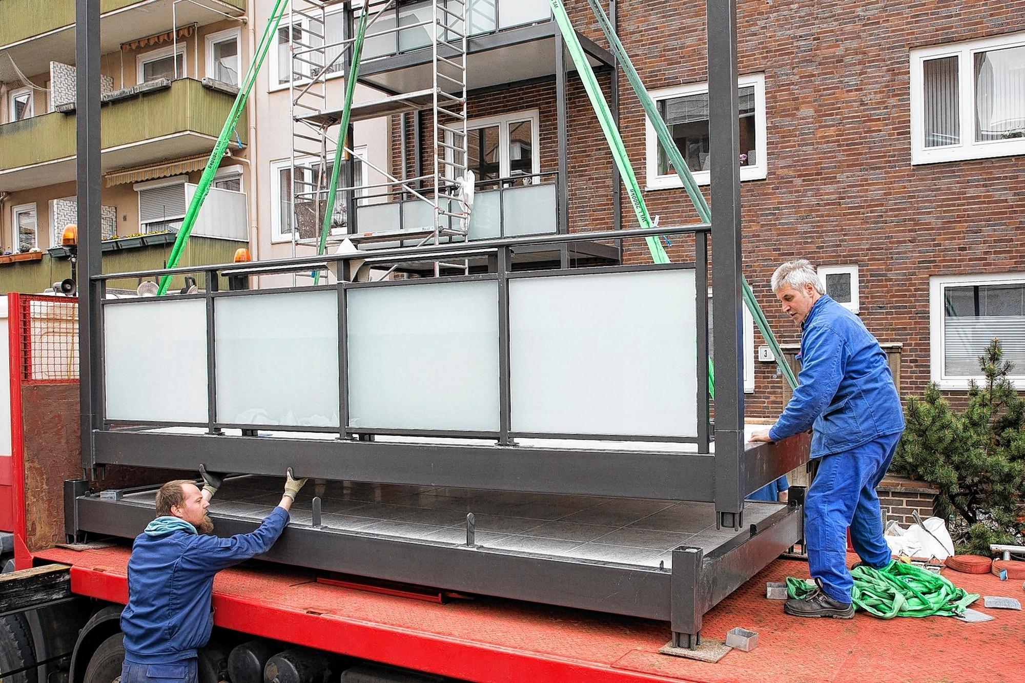 balkone lassen sich sp ter anbauen immomorgen mannheim stadt mannheim morgenweb. Black Bedroom Furniture Sets. Home Design Ideas