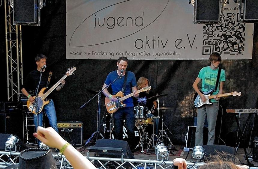 Stadtpark-Invasion: Erstmals an zwei Tagen ging das Musikfestival in Bensheim über die Bühne.
