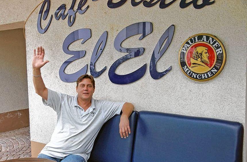 """Nach der Renovierung heißt es am Freitag wieder """"Herzlich willkommen"""" im Bistro """"El-El"""" am Edinger ..."""