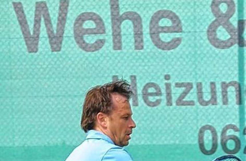 Nur Oliver Fischer holte zwei Zähler für die Herren 30 des TCH.