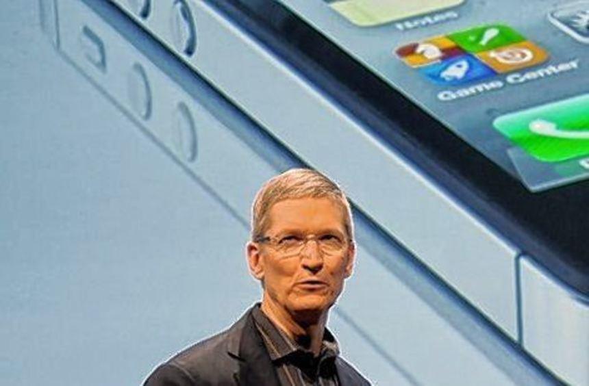 Apple-Chef Tim Cook hat die neuen Macbook-Laptops präsentiert.