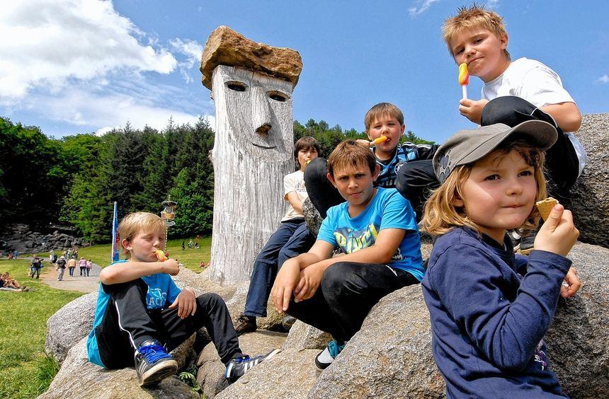 Da werden die Sommerferien nicht langweilig: Die Felsenmeerkobolde bieten für Kinder und ...
