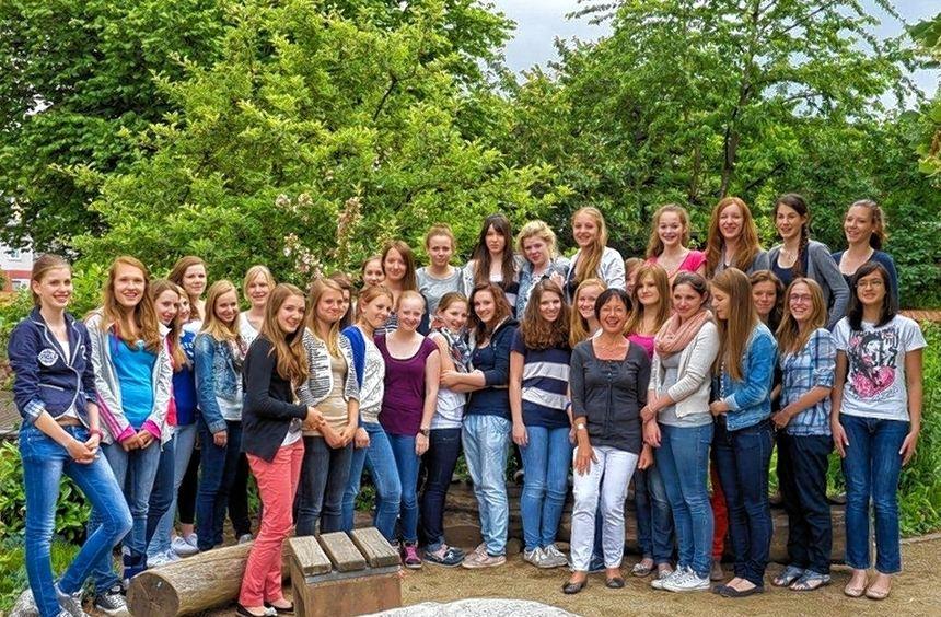 38 LFS-Schülerinnen reisen am Montag in die Partnerschule in Amersham.